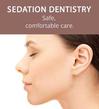 Sedation dentistry at Hunsaker Dental woman smiling double exposure with beach Salem, OR