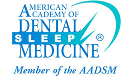 American Academy of Dental Sleep Medicine Logo Dentist Salem Oregon